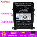 KiriNavi Vertical Screen Tesla Style Android 8.1 Car Dvd Multimedia Player For Toyota Reiz Mark X Radio Automotivo 4G 2010+