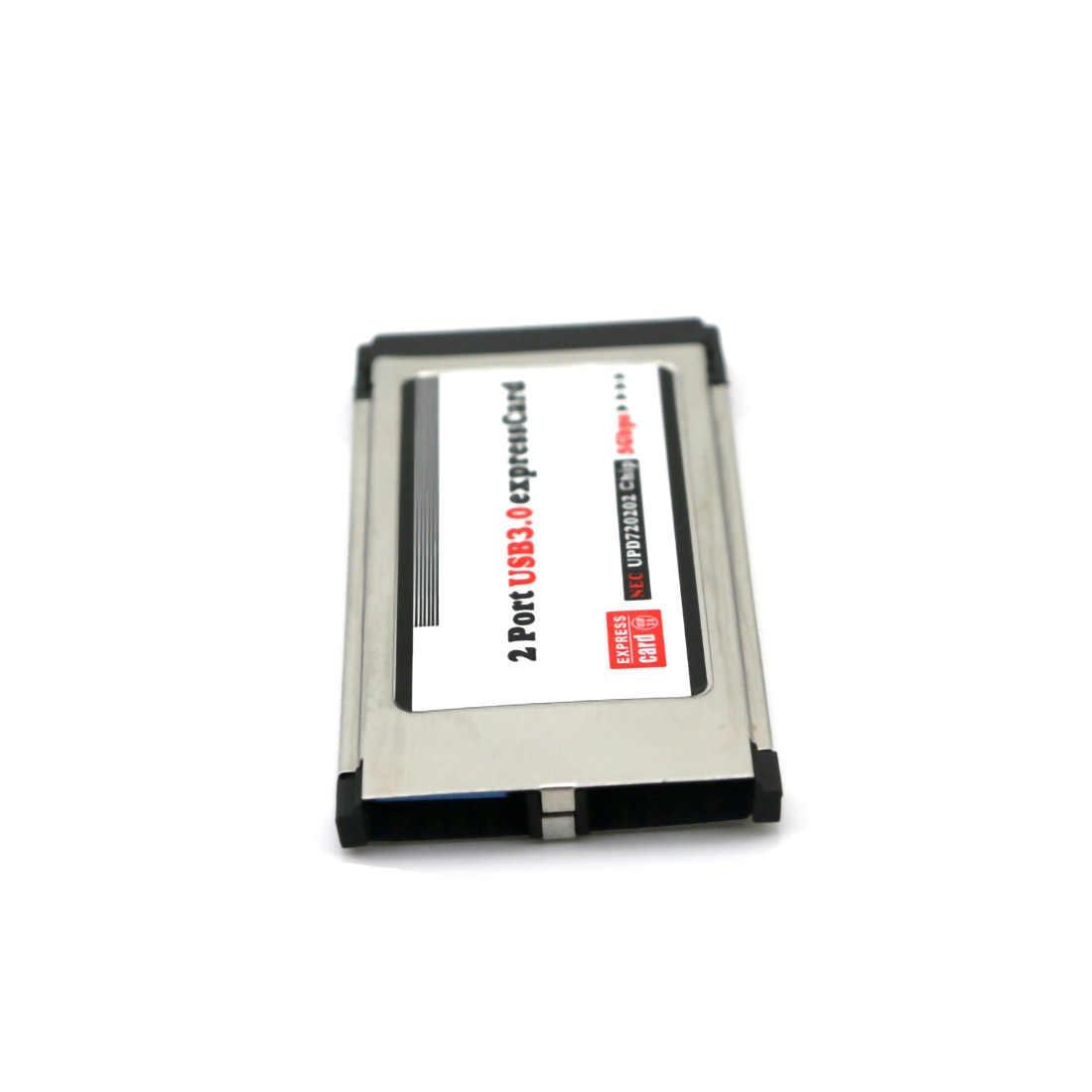 PCI-E PCI Express to 2 Port USB 3.0 34 Mm Expresscard Card Converter Adapter