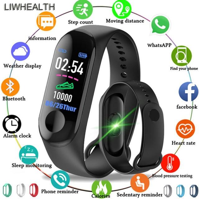 Cheap Smart Watch Men/Women/Kids Reloj Step Fitness Tacker Smartwatch HR For APPLE/Xiaomi/Huawei PK IWO 8/Mi Band 3/4 Not