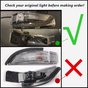 Image 5 - Led Dynamische Blinker Licht Pfütze Lampe Parkplatz Seite Rückspiegel Anzeige Für Toyota CHR C HR AX10 2018 2019 2020 europa