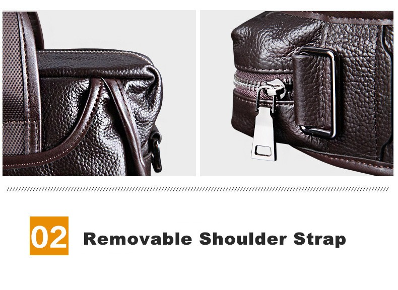 H57e57c1880674be9a8629f27806d550aw 2019 New Fashion cowhide male commercial briefcase /Real Leather vintage men's messenger bag/casual Natural Cowskin Business bag