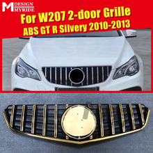 купить W207 Grills GTS Grille Fits For MercedesMB E Class Coupe Sports E200 250 280 350 400 ABS Silver Front Grille Without Sign 10-13 дешево