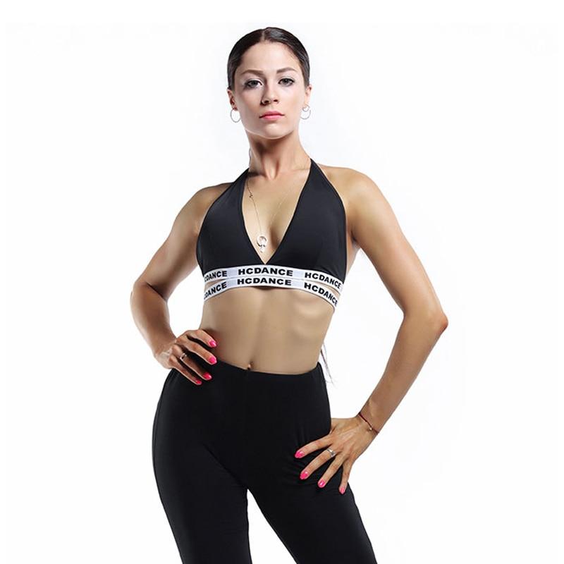 Latin Dance Practice Clothes Women Adults Sling Bra Top Rumba Samba Tango Cha Cha Salsa National Standard Dancing Train Outfits