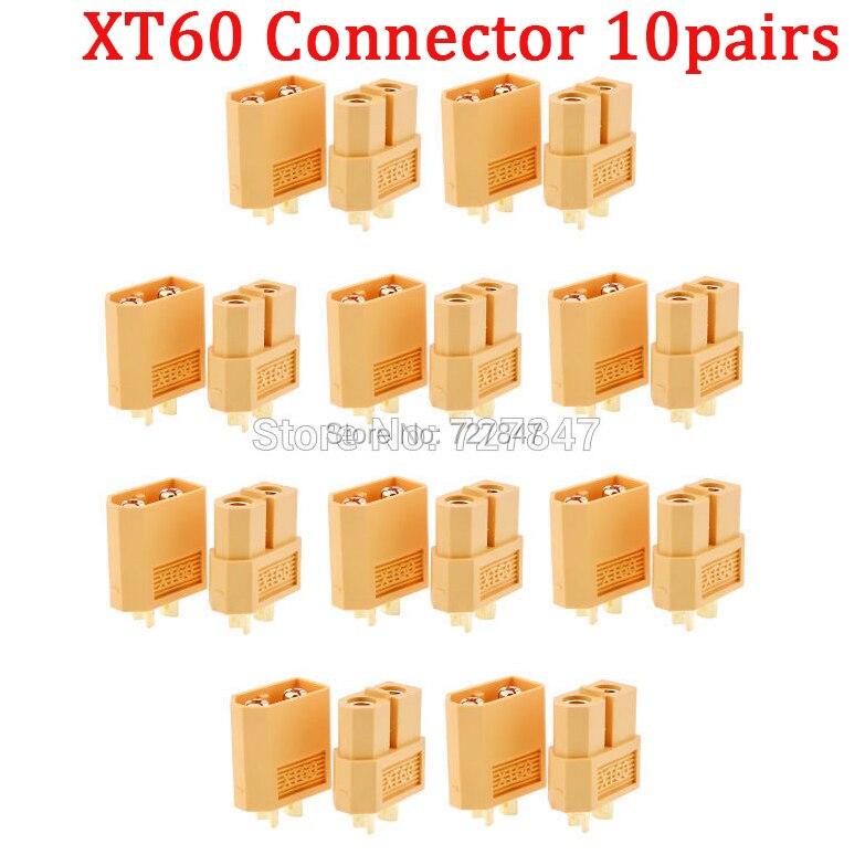 20 шт.(10 пар) Высокое качество XT30 XT30U XT60 XT60H XT60L XT60PW XT90 XT90S разъем для батареи мультикоптера