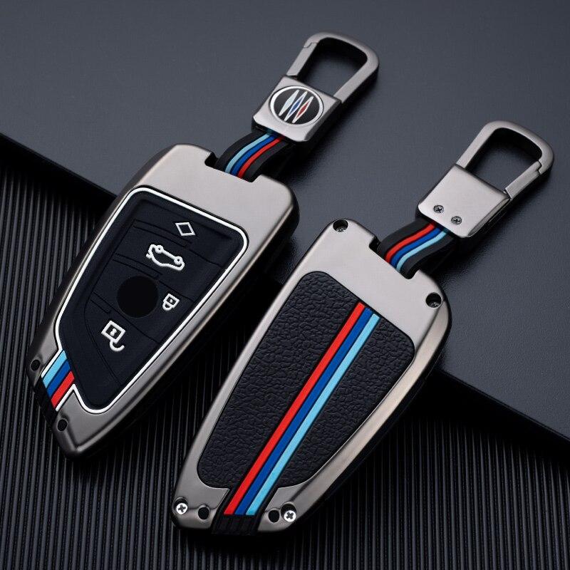Чехол для автомобильного ключа из цинкового сплава, защитный чехол для BMW X1 X3 X4 X5 F15 X6 F16 G30 7 Series G11 F48 F39 520 525 f30 118i 218i 320i|Футляр для автомобильного ключа|   | АлиЭкспресс
