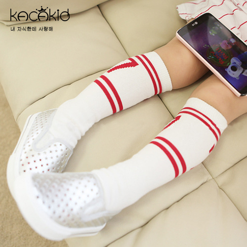 Kacakid Spring And Autumn New Style Children's Socks Men And Women Baby Sporty Cotton Socks Tube Socks Handsome With Numbers Lit