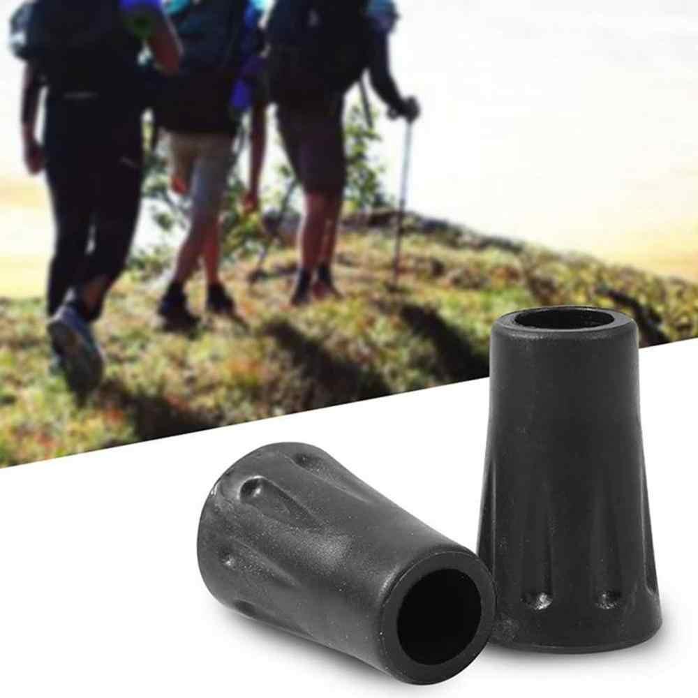 5pcs New Anti Slide Rubber Tips End Cover for Walking Stick Trekking Poles