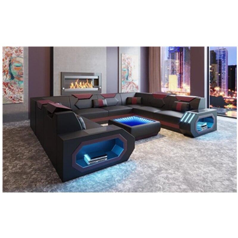 Meubles de salon avec USB et lampe tactile véritable canapé intelligent   AliExpress