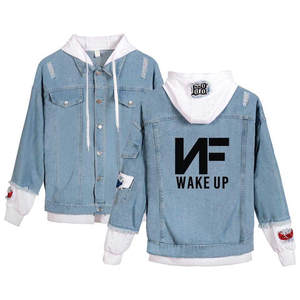 NF Denim Jacket Hoodie 1