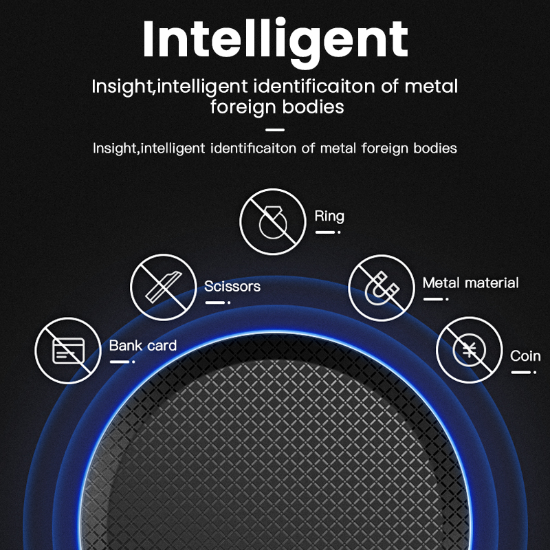 Image 3 - iONCT 15W Fast Qi Wireless Charger for iPhone 11 pro X XR XS Max 8 USB wirless Charging for Samsung phone charger wireless padWireless Chargers   -