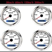 85 мм 30-120 км/ч Скорость ometer датчик 316 Нержавеющаясталь ободок Водонепроницаемый автомобиль Лодка Скорость пробег без GPS антенна 12V/24V