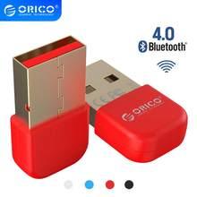 ORICO Bluetooth 4.0 adaptörü USB Dongle verici alıcı için PC bilgisayar Windows Vista uyumlu Bluetooth 2.1/2.0/3.0