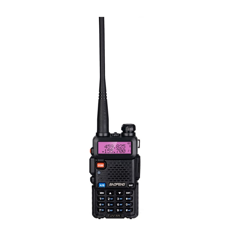 Portable BF-F8HP Dual-Segment Uv-5r Walkie Talkie Set Outdoor Car Handheld Walkie Talkie Support FM Radio