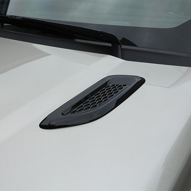 A Pair Car Exterior Hood Air Vent Outlet Wing Cover Trim for Land Rover Range Rover Evoque 2012-2018 Car Styling Accessories 1