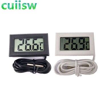 1pcs LCD Digital Thermometer for Freezer Temperature -50~110 degree Refrigerator Fridge Thermometer 2