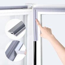 ذاتية اللصق شريط ختم النافذة عازلة للصوت و Windproof النايلون القماش رغوة الباب شريط مطاطي الطقس لانزلاق النوافذ