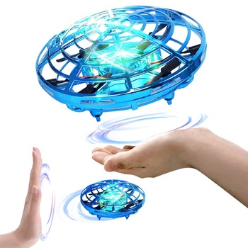 Mini Drone Hand Operated UFO Drones for Kids Induction Aircraft RC Helicopter Flying Ball Toys for Boys Girls Dropship