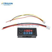 Voltmètre numérique M4430 DC 0-100V 0-200V 10a, 0.28 pouces, ampèremètre, tension 5 fils, testeur de courant, détecteur de voiture