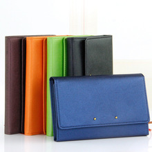 Multifunction A7 planner Pocket notebook organizer small notepad leather cover office business daily memos note stationery diary