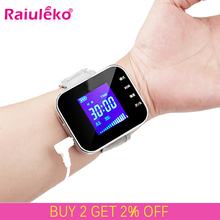 650nm Laser Therapy Diabetic Wrist Watch for Diabetes Hypertension Treatment Watch Laser Sinusitis Therapeutic ApparatusBlood Glucose