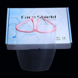 New Dental Visors Adjustable Detachable New Full Face Shield10 PCS+1 Frame(China)