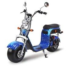 Современная мода для езды на автомобиле EEC Citycoco 2000 Вт Европа склад 2 батареи 20AH нескладной Прокат Citycoco