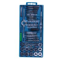 Top Tap and Die Set 40 Piece w/Case Tapping Threading Chasing Repair NEW|Tap & Die| |  -