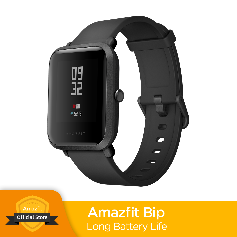 Multi Language Huami Amazfit Bip Smart Watch GPS Glonass Smartwatch Smart watch Watchs 45 Days Standby for Xiaomi Phone MI8 IOS Smart Watches     - AliExpress