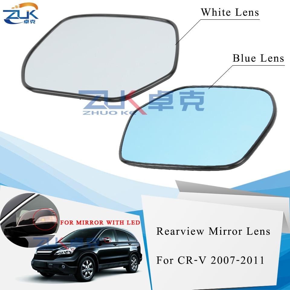 Gauche Côté Passager Aile électrique chauffé en verre miroir pour Honda Civic 2012 sur