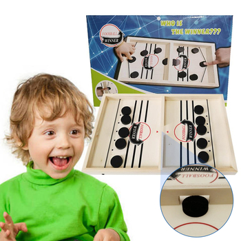 Fast Hockey Sling Puck Game Paced Sling Puck Winner Fun Toys Board-Game Party Game Toys For Adult Child Family Hot In Sale fast hockey sling puck game paced sling puck winner board game party game for adult child family table desktop hot in sale