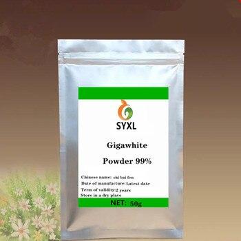 Polvo Soluble en agua ISO 2020 gigawead 100%, materia prima cosmética Natural para el blanqueamiento de la piel de alta calidad, Envío Gratis
