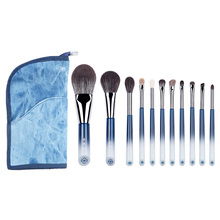 MyDestiny makeup brush The Butterfly Lovers 11pcs soft makeup brushes set cosmetic tool&pens powder foundation eyeshadow beauty