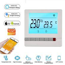 Умный домашний термостат с дистанционным управлением wi fi поддержка
