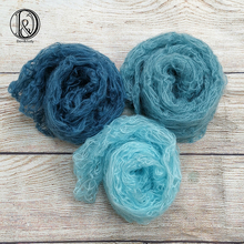Don&Judy 2pcs/3pcs/lots 60x30cm Mohair Wrap Baby Photography Blankets Newborn Photography Props Elastic Newborn Accessories