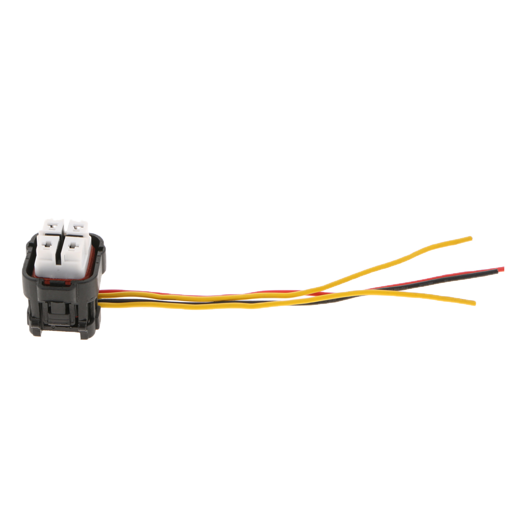 4P Waterproof Fuel Pump Connector Wiring Harness Pigtail 4-Wire Female Connector Plugs 303 70421y-2.2-21