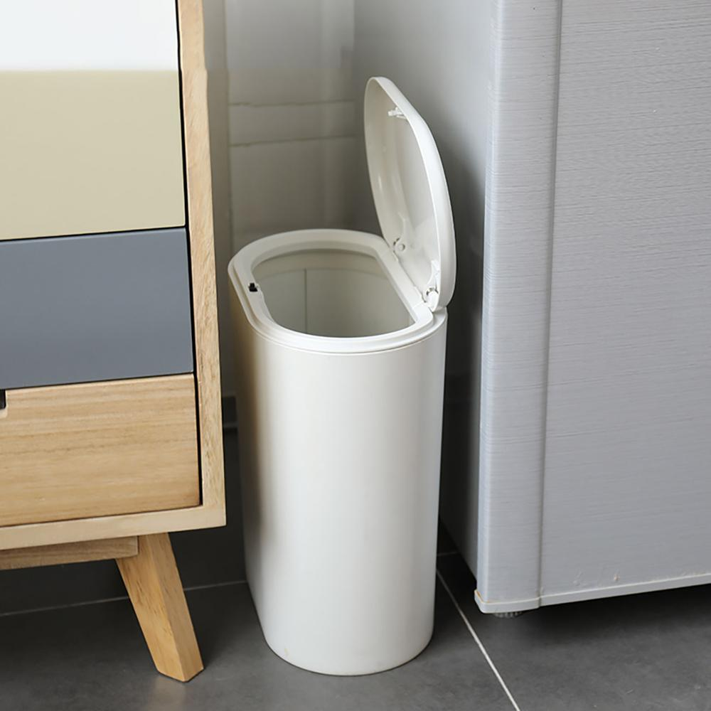 Plastic Oval Trash Can Pressing Type Trash Bin Dustbin Wastebasket Kitchen Bathroom Garbage Storage Bin Can Waste Bins Aliexpress