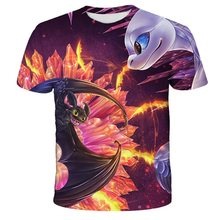 Cool Dream Work Teen Casual tee 2020 How to Train Your Dragon 3d Men Anime  Casual Tee  3d Print T shirts Cartoon Men T shirts