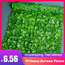 Garden-Fence Topiary Hedge Privacy-Screen Plant Artificial-Privacy-Panels Uv-Protection