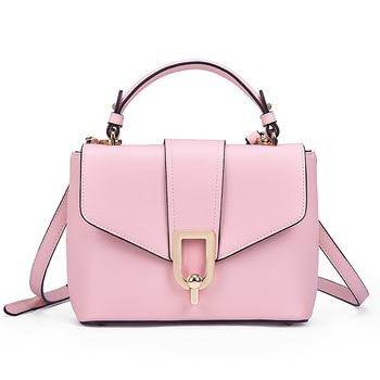RM-9033 New Fashion Ladies Handbag Shoulder Messenger Bag Portable Genuine Leather Women's Bag