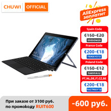 CHUWI – tablette PC UBook Windows 10, écran IPS de 11.6 pouces, Intel Celeron N4120 Quad Core LPDDR4, 8 go 256 go SSD, stockage