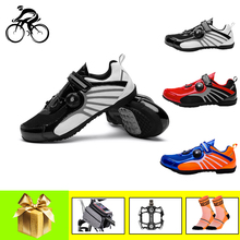 Mountain bike shoes men women breathable road cycling shoes light non-locking outdoor riding leisure bicycle bike sneakers boodun breathable mountain cycling shoes leisure sports outdoor mtb road bike bicycle lock riding shoes women