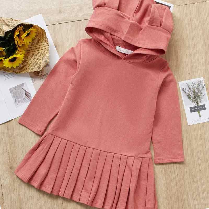 Милая осенняя одежда для девочек от 2 до 10 лет Детские платья для девочек, повседневная одежда шикарное платье на лямках со звездами праздничная одежда для маленьких девочек