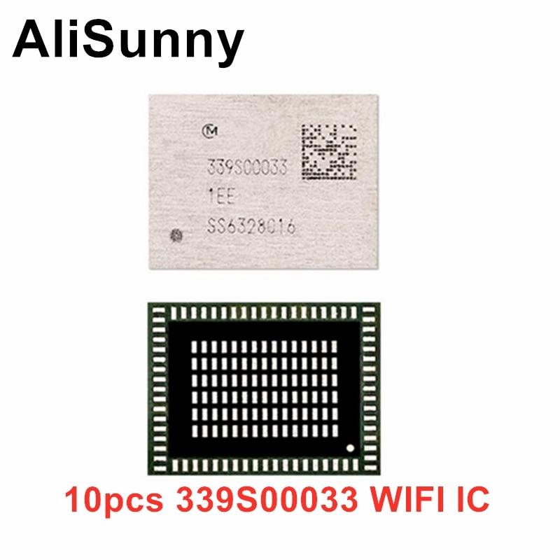 Alisunny 10 pces 339s00033 wifi ic para iphone 6s plus 6sp wi-fi módulo chip de alta temperatura reparação parte