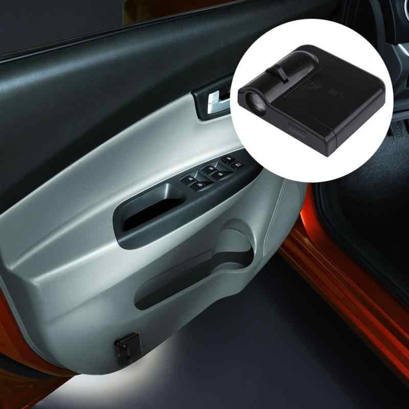 2 個ワイヤレス車のドア Led ゴーストシャドウライト車のスタイリング車のインテリアランプライトウェルカムレーザープロジェクターロゴライト