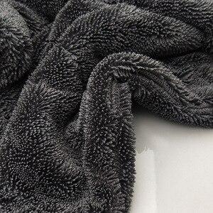 Image 2 - 厚み余分なソフト洗車ワックスクリスタルマイクロファイバータオルカークリーニング乾燥布カーケア布ディテール車washtowel