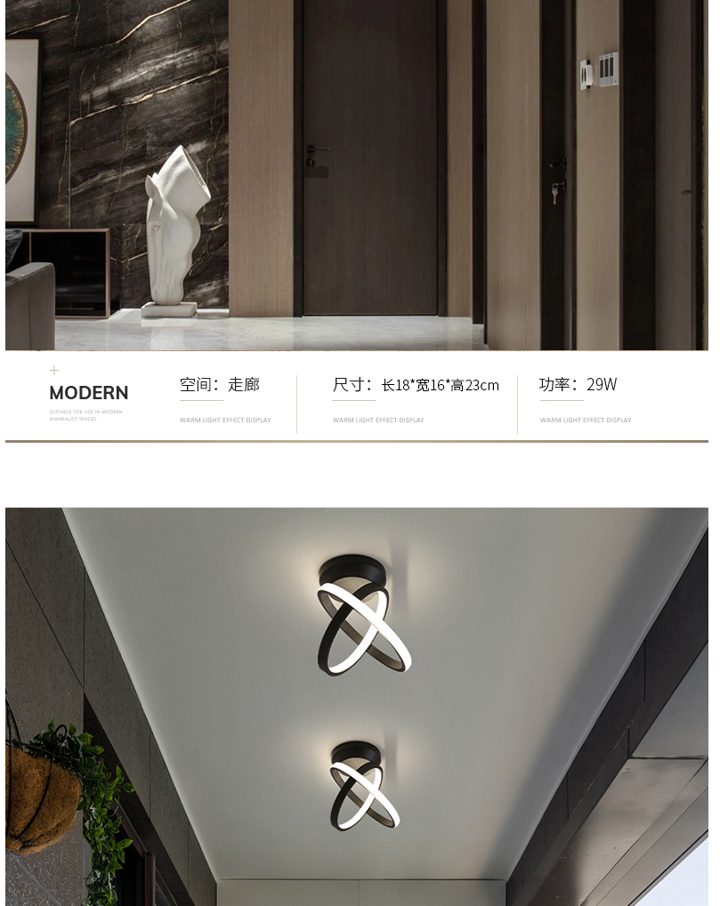 H57ea6e72ea644606b2b141d7991d5088S Verllas Rotatable Modern LED Ceiling Lights for Corridor aisle minimalist porch entrance hall balcony led Home ceiling lamp