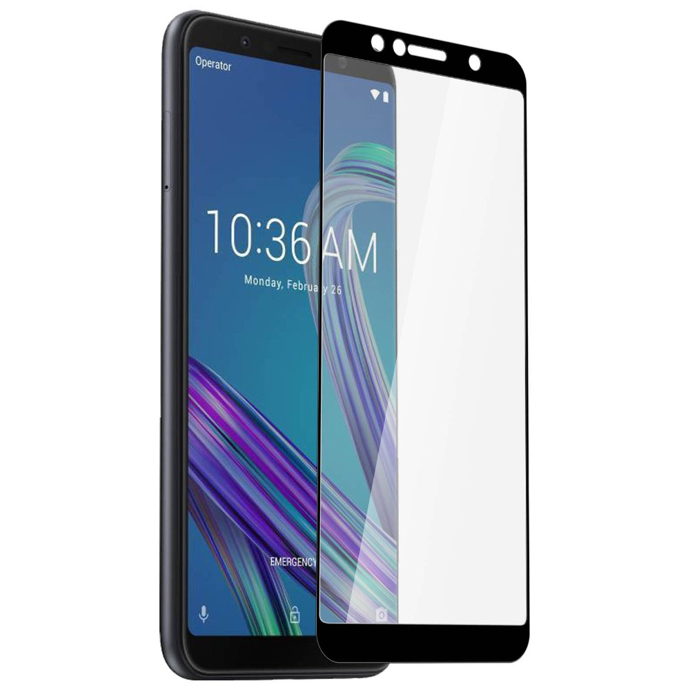 HD Screen Tempered Protective <font><b>Glass</b></font> For Asus ZenFone Max Pro M1 ZB601KL / ZB602KL <font><b>ZB</b></font> ZB602 602 <font><b>602KL</b></font> Screen Protector Full Cover image