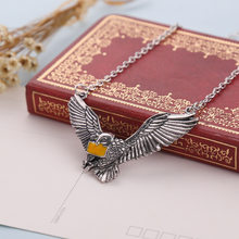 Dove Owl Jewelry Little Cute Bird School of Witchcraft and Wizardry of Admission Carrier Pigeon slytherin Pendant Necklace(China)