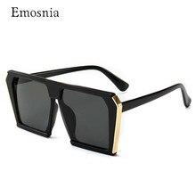 Fashion New Ladies Square Sunglasses Flat Top Frame Fashion