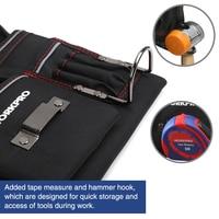 WORKPRO Multifunction Belt Tool Pouch Tool Holder Electrician Waist Tool Bag Convenient Work Organizer